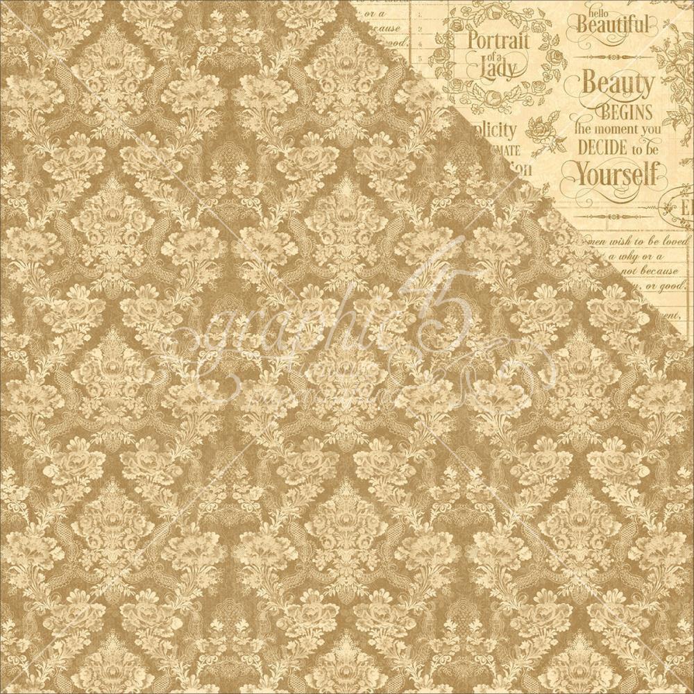 Двусторонняя бумага Grace, 30*30 см от Graphic 45
