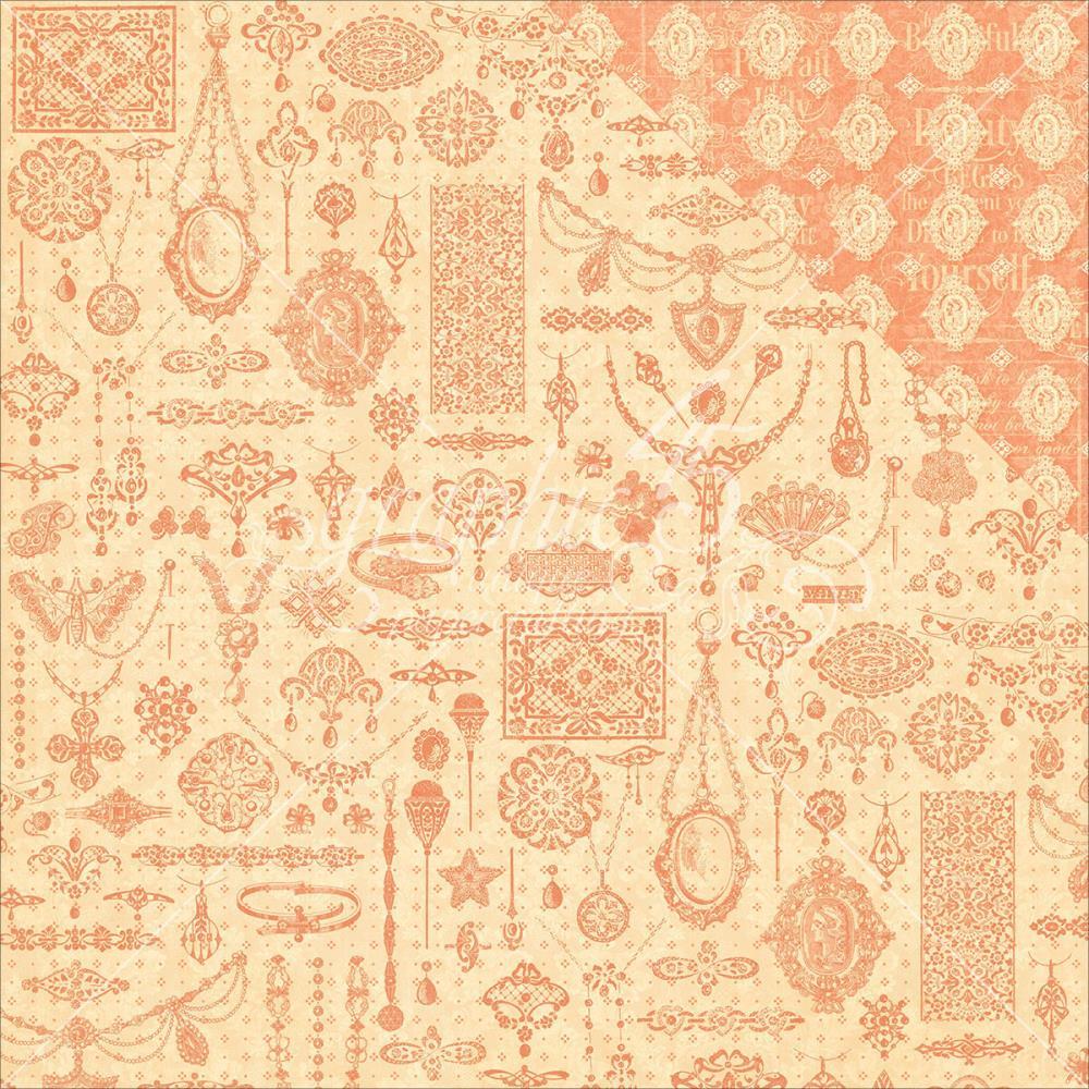 Двусторонняя бумага Sophia, 30*30 см от Graphic 45