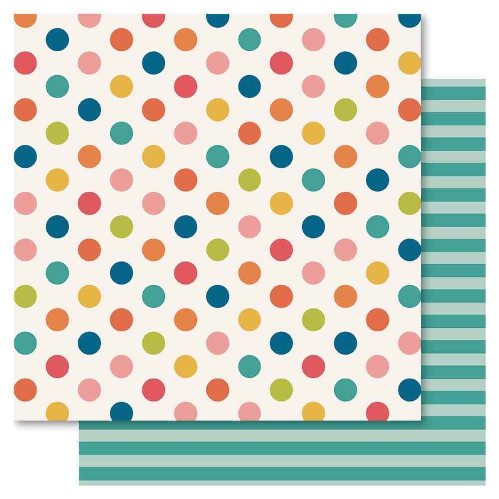 Двусторонняя бумага Spot This, 30*30 см, 1 шт от Ruby Rock-It