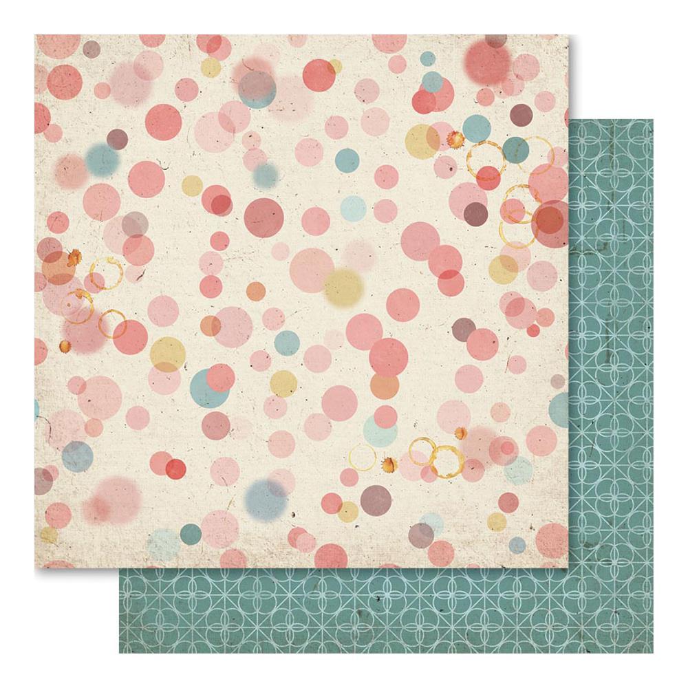 Двусторонняя бумага Splotch, 30*30 см от Ruby Rock-It
