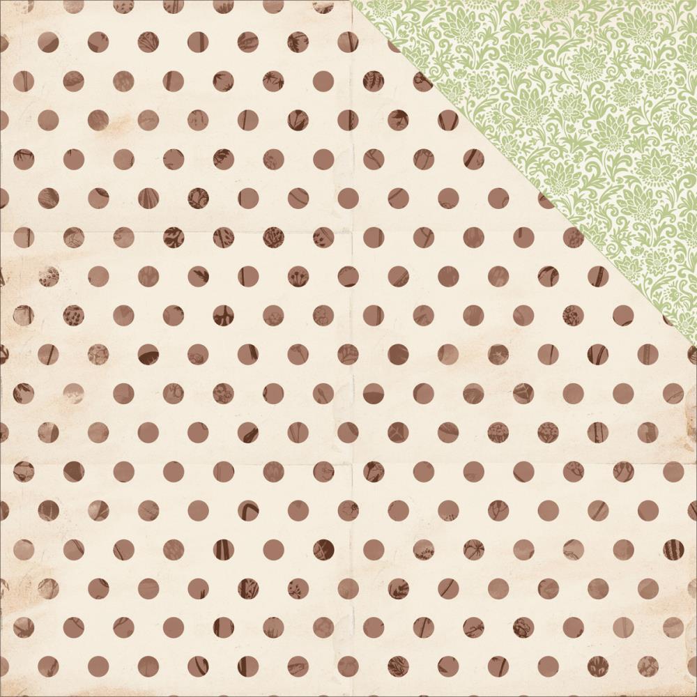 Лист двусторонней бумаги Stem, 30*30 см от Kaisercraft
