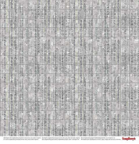 Лист двусторонней бумаги Своя стезя, 30*30 см от ScrapBerry's