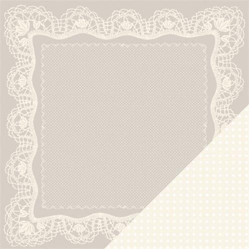 Двусторонняя бумага для скрапбукинга Handkerchief - Tie the Knot от Making Memories