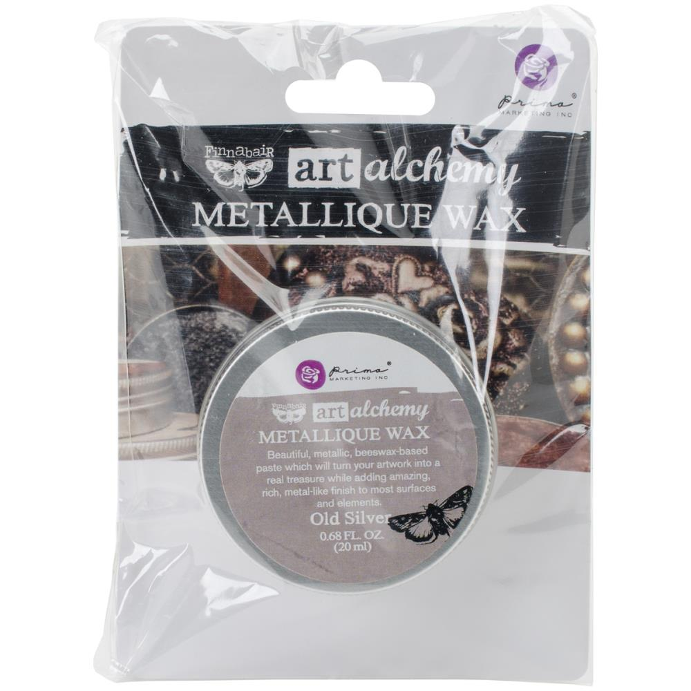 Воск Finnabair Art Alchemy Metallic Wax - Old Silver 20 мл Prima