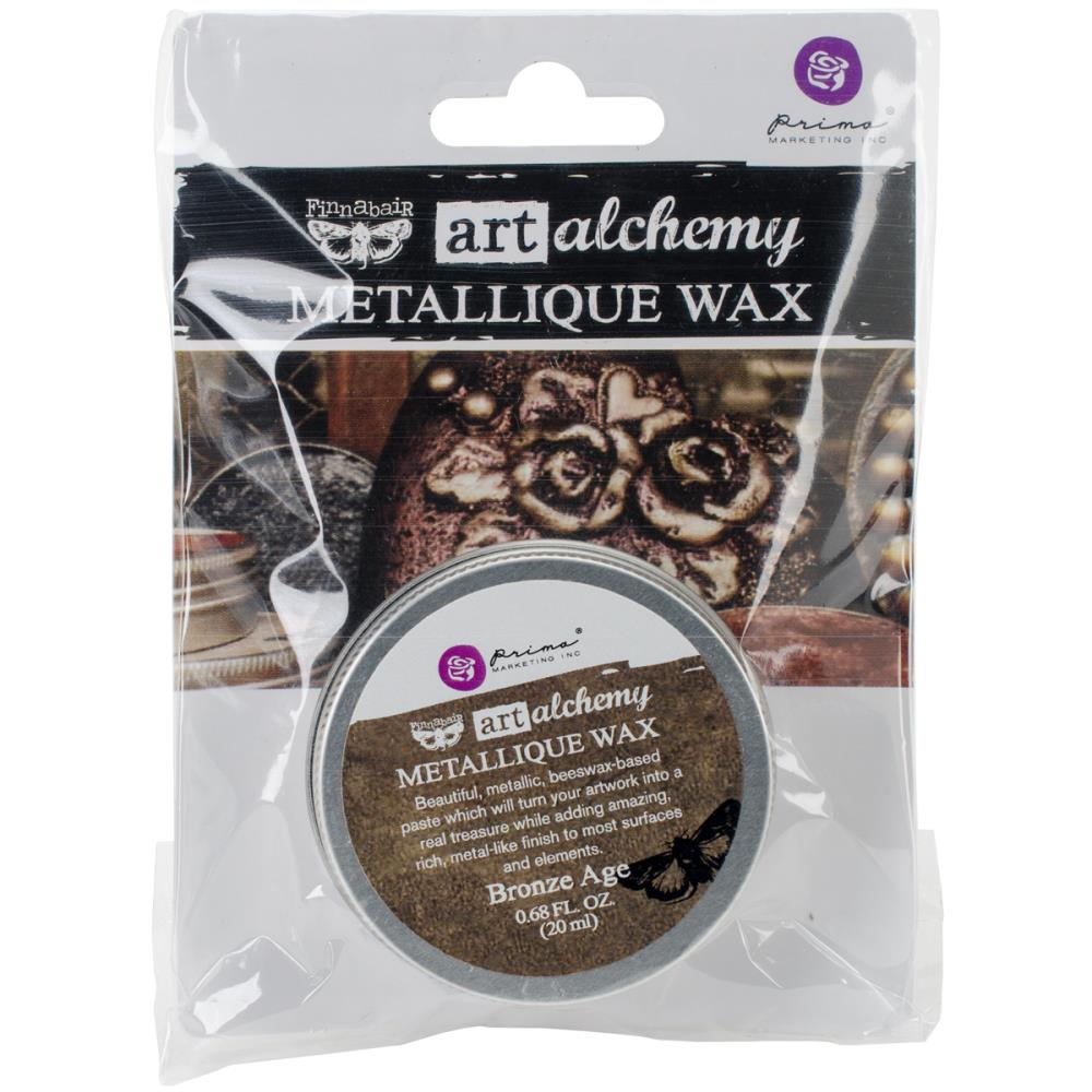 Воск Finnabair Art Alchemy Metallic Wax - Bronze Age 20 мл Prima