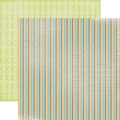 Двусторонняя бумага для скрапбукинга 30х30 см Trinket от Lily Bee Design