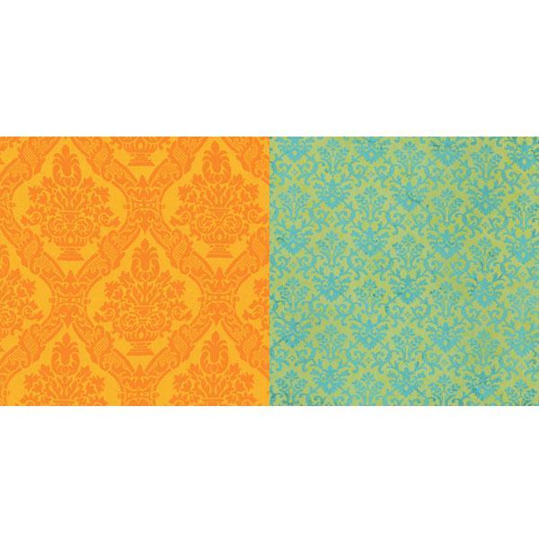 Двусторонняя бумага для скрапбукинга 30х30 см Tailored от Lily Bee Design