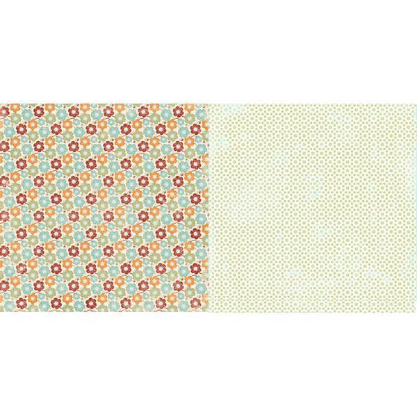 Двусторонняя бумага для скрапбукинга 30х30 см Fashion Show от Lily Bee Design