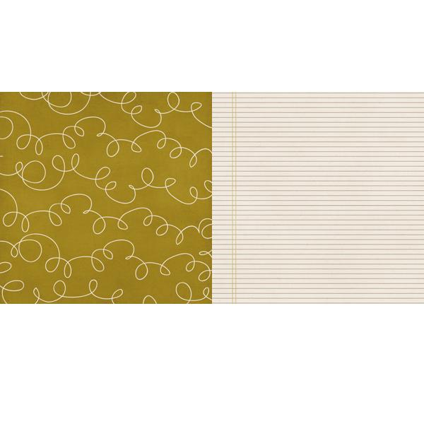 Двусторонняя бумага для скрапбукинга Double Dutch от Lily Bee Design