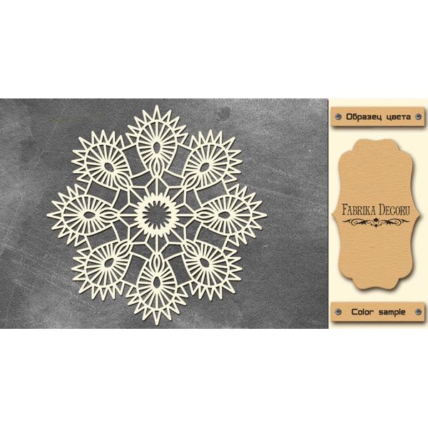 Набор чипбордов,ов, цвет крафт-милк, 15х15 см, FDCH-231, ТМ Фабрика Декора
