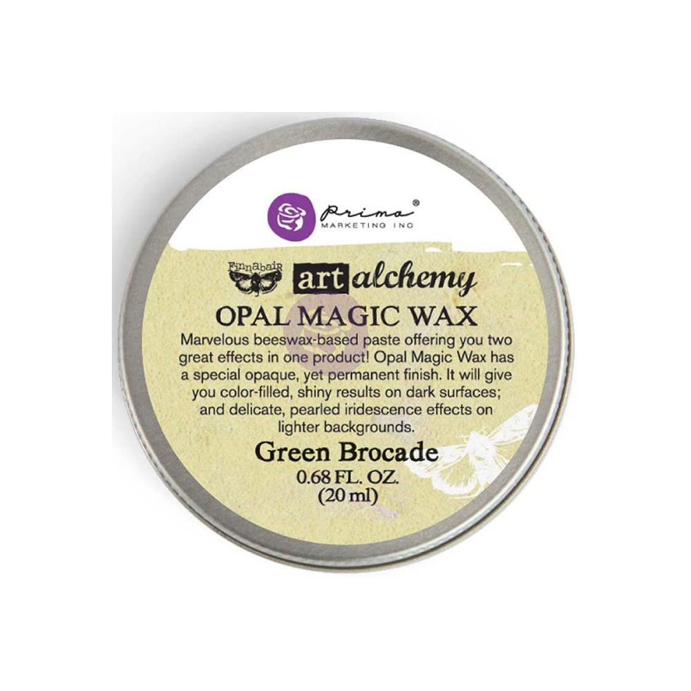 Воск Finnabair Art Alchemy Opal Magic - Green Brocade, Prima