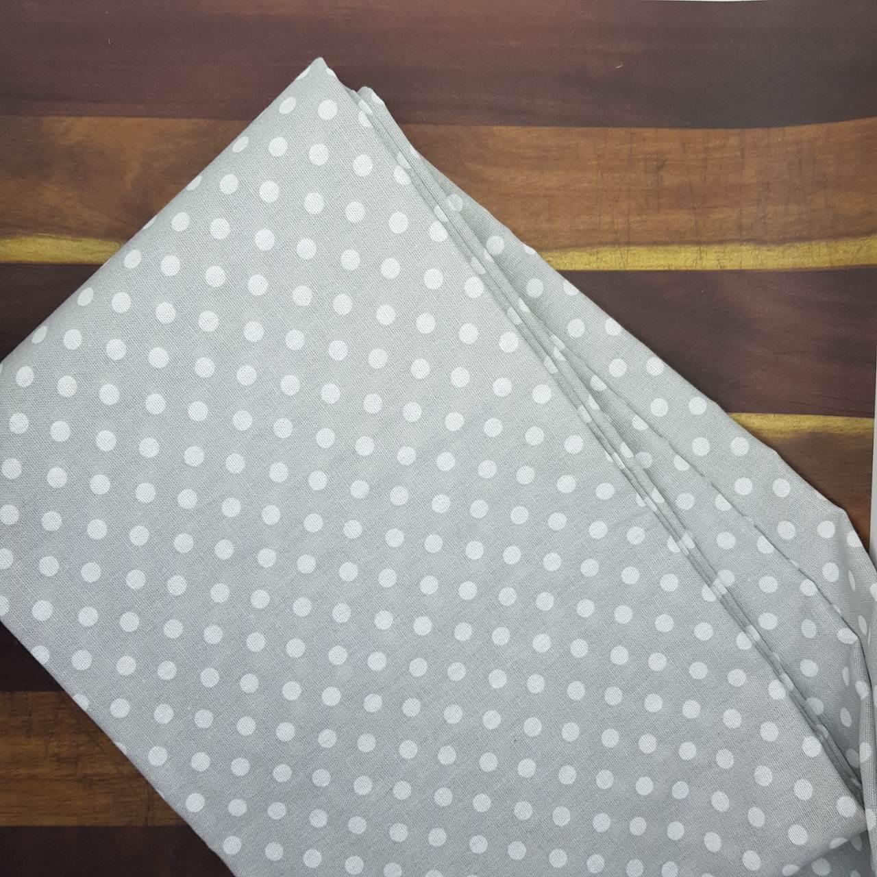 Ткань хлопок Горох серый, 35х70 см