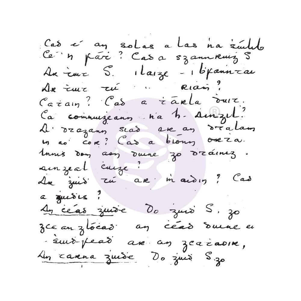 Акриловый штамп Secret Notes - Prima