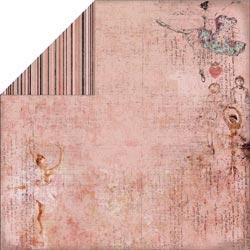 Двусторонняя скрапбумага Ballet Dress 30х30 от Fabscraps