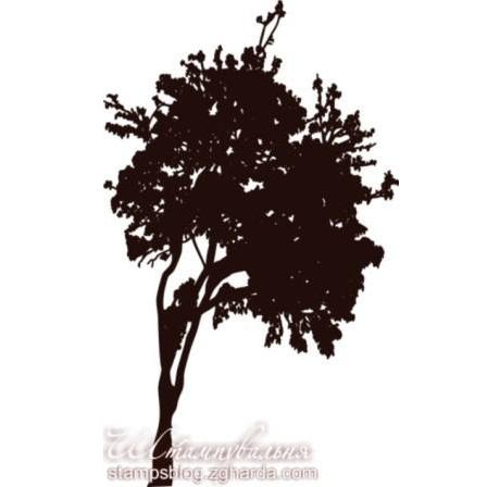 """Акриловый штамп """"Дерево"""" размером 3,7х6,2 см"""