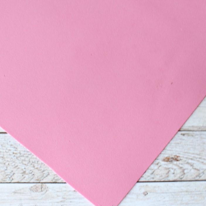 Фоамиран, 20 х 30 см, 1 мм, розового цвета