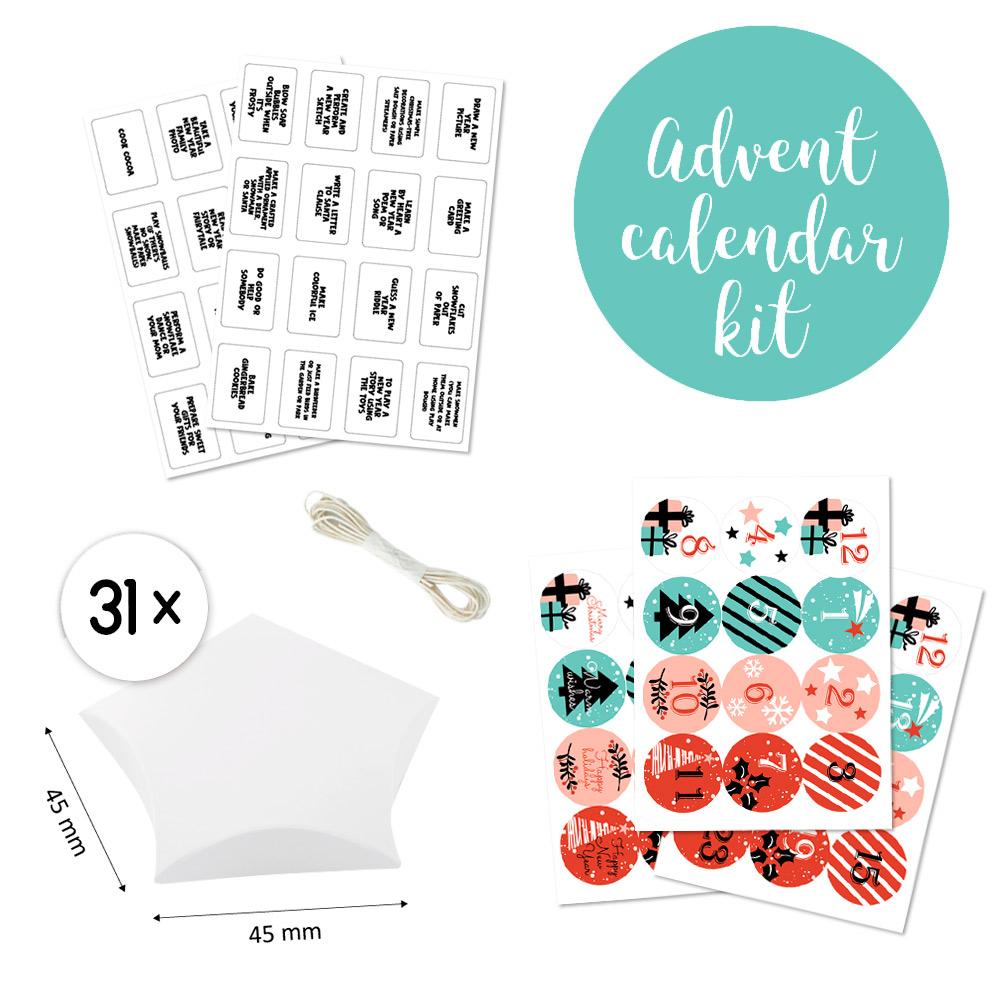 Набор для творчества Адвент-календарь #3 RU, Фабрика Декору