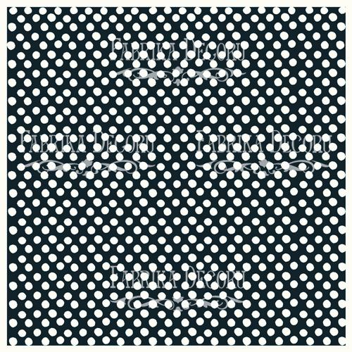 Деко веллум (лист кальки с рисунком) Горошек, Фабрика Декору