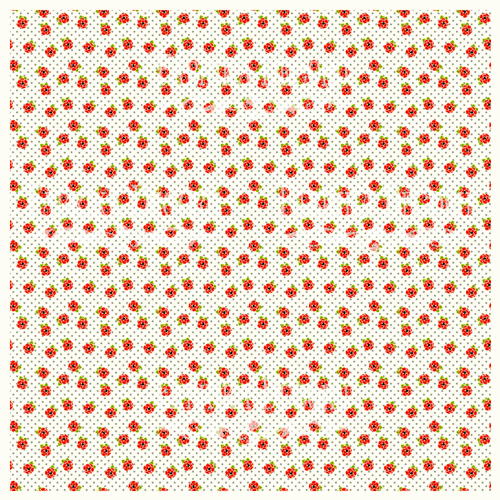 Деко веллум (лист кальки с рисунком) Маки, Фабрика Декору