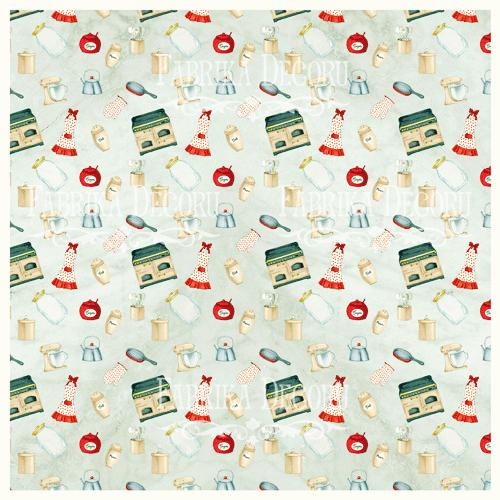Деко веллум (лист кальки с рисунком) Кулинарное настроение, Фабрика Декора