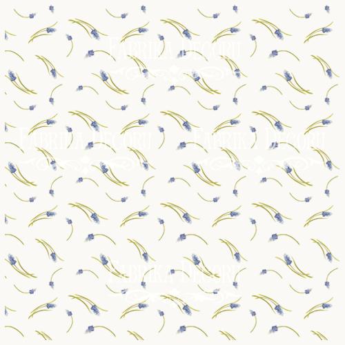Деко веллум (лист кальки с рисунком) Мускари, Фабрика Декора