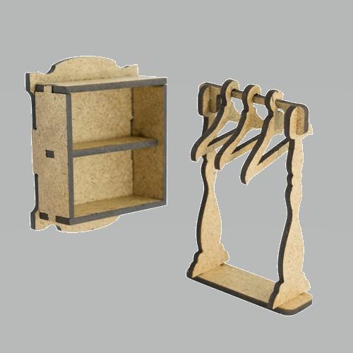 3D Заготовка фигурки для оформления шедоубокса №53, Фабрика Декора