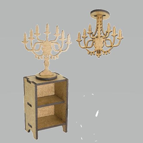 3D Заготовка фигурки для оформления шедоубокса №52, Фабрика Декора