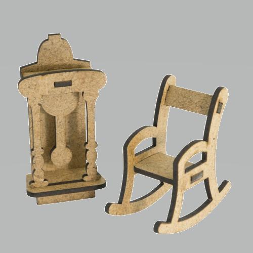 3D Заготовка фигурки для оформления шедоубокса №56, Фабрика Декора