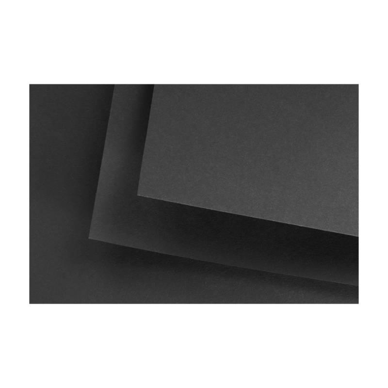 Бумага mixed media Black Black B2 50х70см 280г/м2 Fabriano