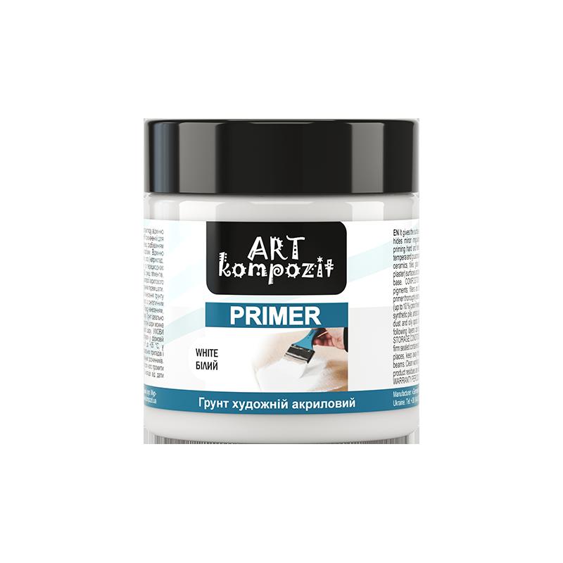 Грунт акриловый Deco Kompozit (белый, 150 мл), ART Kompozit