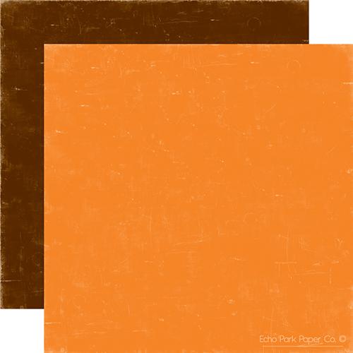 Двусторонний лист бумаги Lava/Chocolate 30x30 cм от Echo Park