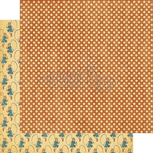 Двусторонняя бумага Jumping Joan 30x30 см от Graphic 45