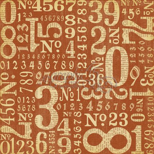 Двусторонняя бумага Counting Down 30x30 см от Graphic 45