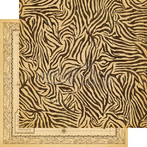 Двусторонняя бумага Jungle Fever 30x30 см от Graphic 45