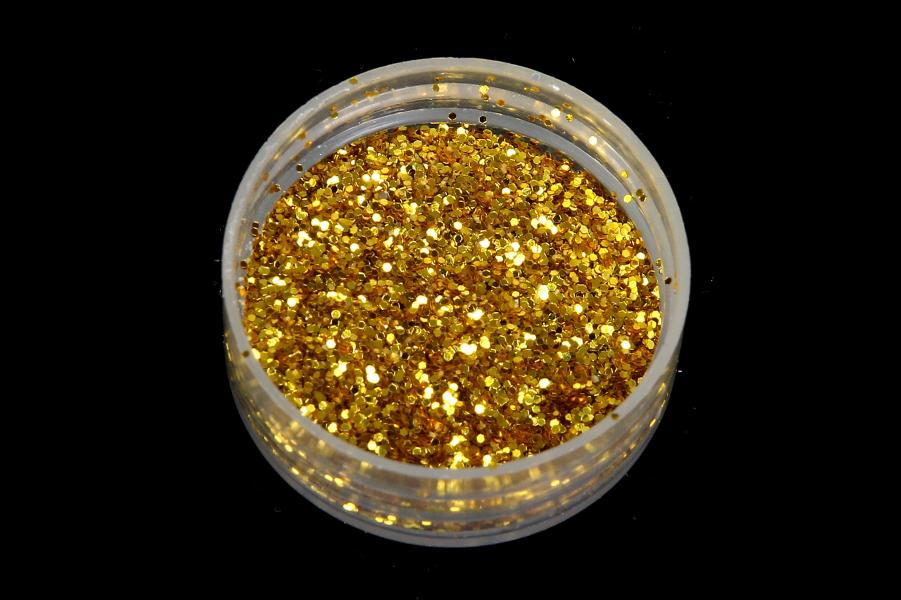 Глиттер, золото, 15гр