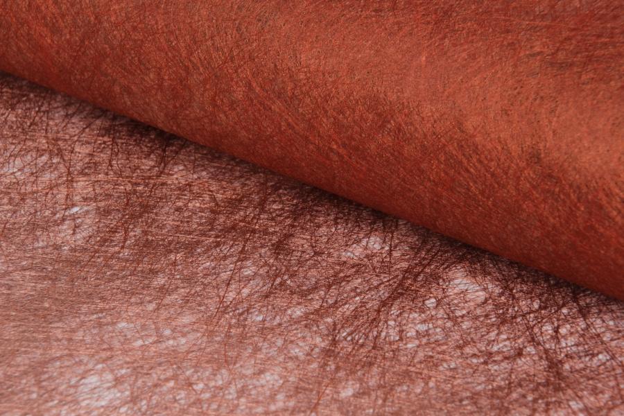 Бумага флизелиновая, сизофлор, оранжевая, 70х50см