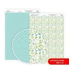 Бумага дизайнерская двусторонняя матовая, Нежность цветов 6, 21х29,7 см, 200 г/м2, Rosa Talent