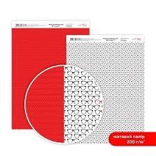 Бумага дизайнерская двусторонняя матовая, Be in color 1, 21х29,7см, 200 г/м2, Rosa Talent