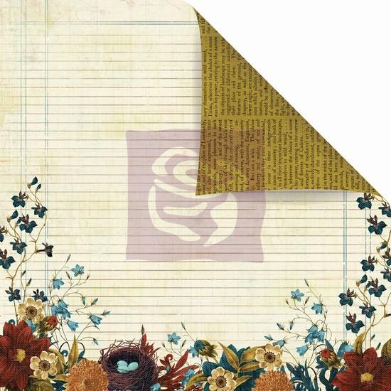 Двусторонняя бумага Goldsboro 30х30 см от Prima