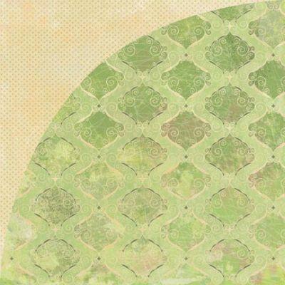 Двусторонняя бумага для скрапбукинга Pulled Taffy 30х30 см от Basic Grey