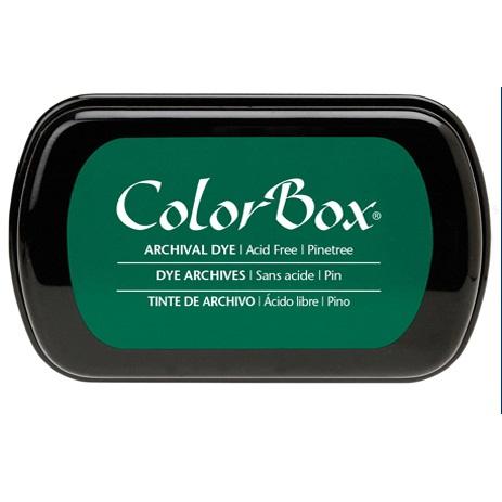 Архивные перманентные чернила Colorbox Archival Pinetree от Clear Snap