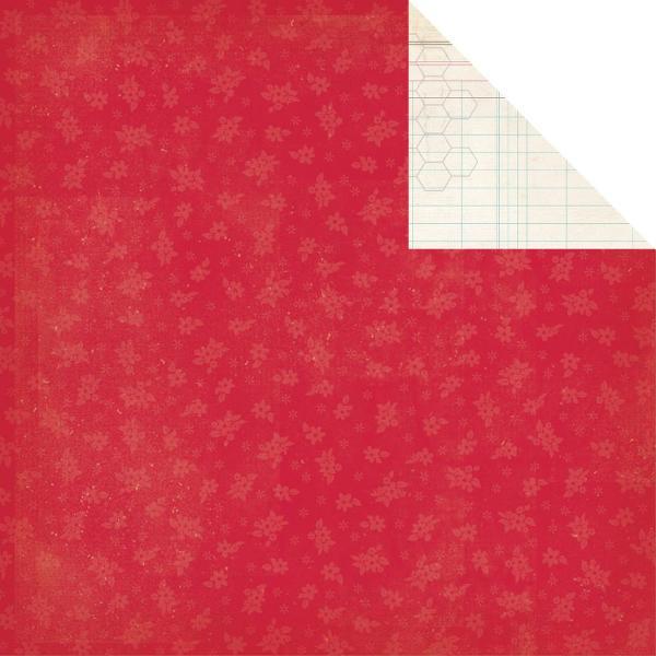 Двусторонняя бумага Honeycomb Ledger 30х30 см от Simple Stories