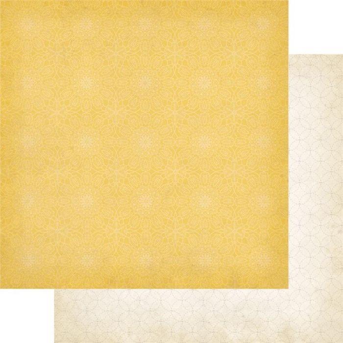 Двусторонняя бумага Stitch Lattice 30х30 см от Simple Stories