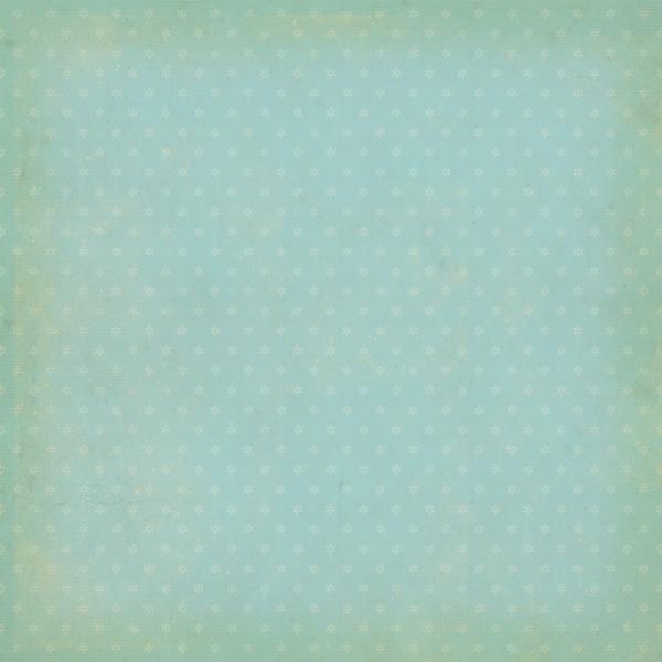 Двусторонняя бумага Sky Blue Daisy 30х30 см от Simple Stories