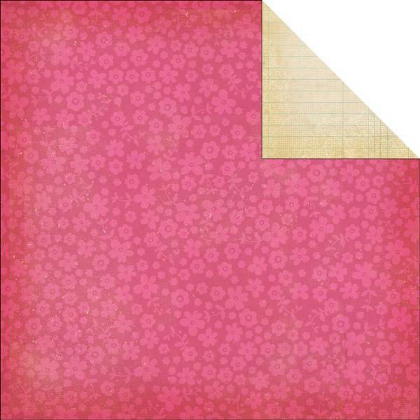 Двусторонняя бумага Ledger Simple Basics 30х30 см от Simple Stories