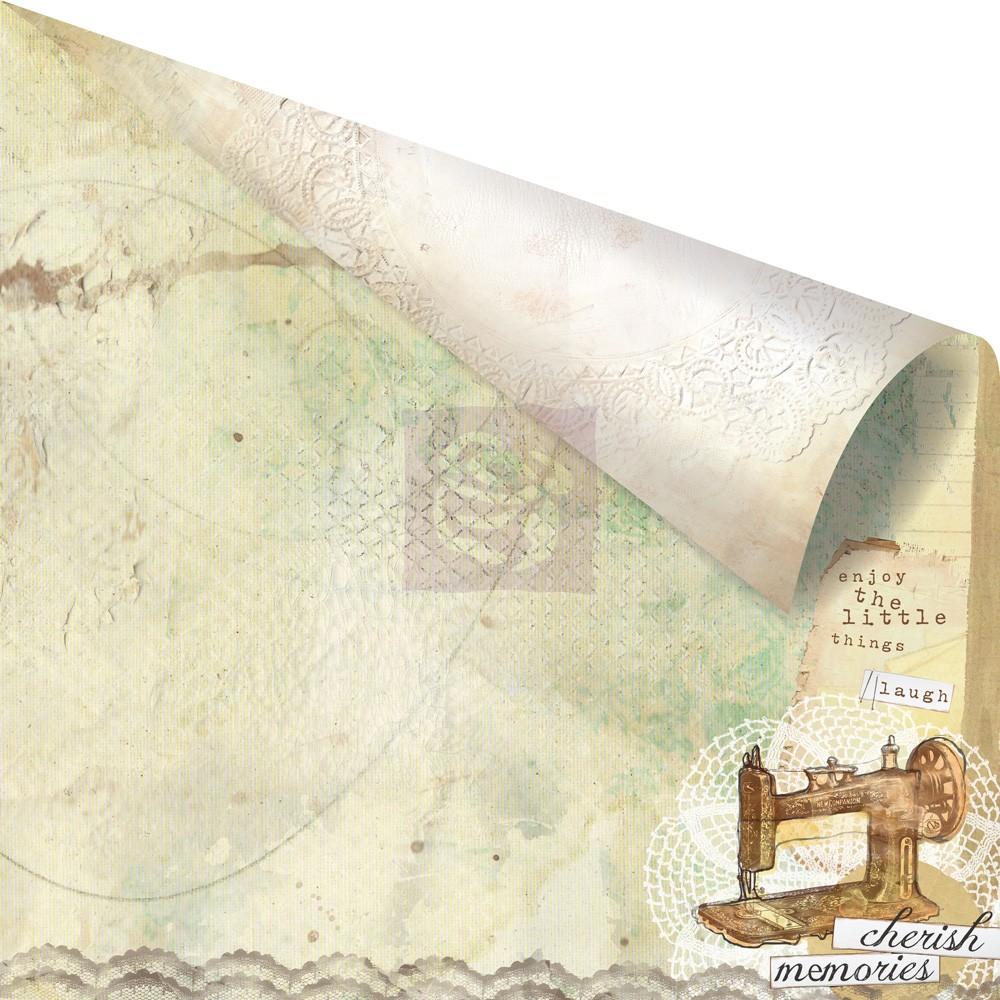 Двусторонняя бумага Guiltier 30х30 см от Prima