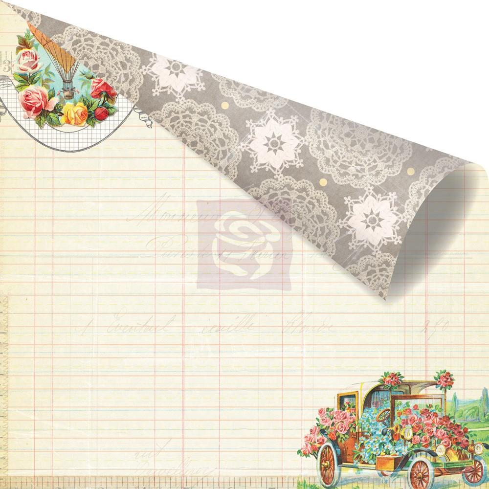 Двусторонняя бумага Couplet 30х30 см от Prim