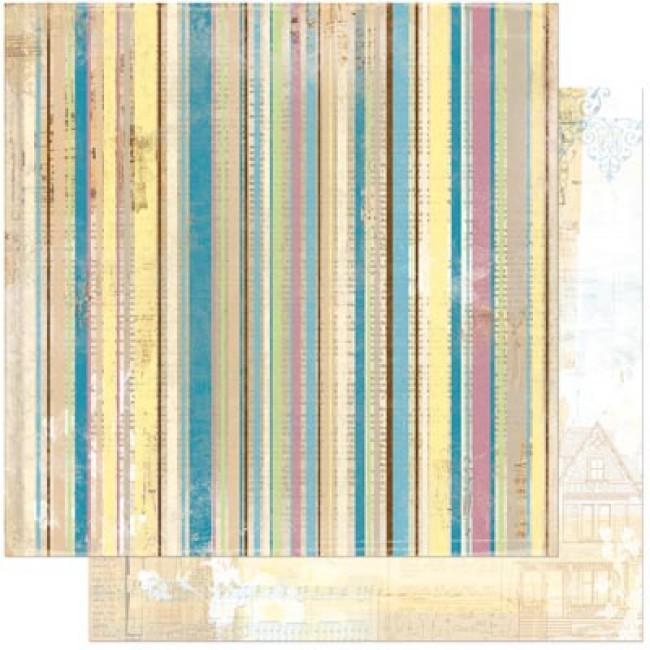 Двусторонняя бумага для скрапбукинга Panache 30х30 см от Bo Bunny