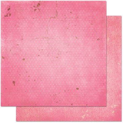 Двусторонняя бумага для скрапбукинга Passion Fruit Vintage 30х30 см от Bo Bunny