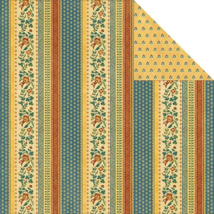 Двусторонняя бумага Deja Vu 30х30 см от Graphic 45